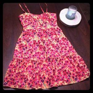 Fun floral fossil dress!